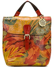 Vatoni Small Convertible Leather Backpack