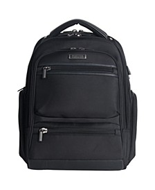 """TSA Checkpoint-Friendly 17"""" Laptop Backpack with USB"""