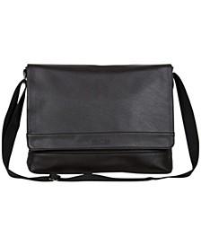 "Slim 15"" Laptop Flapover Messenger Bag"