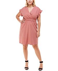 Plus Size Smocked-Waist Dress
