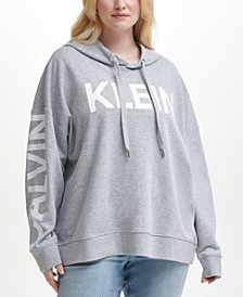Plus Size Logo French Terry Hoodie