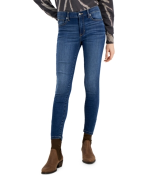 Juniors' Mid Rise Skinny Ankle Jeans