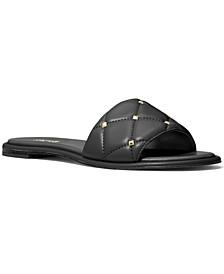 Rina Studded Slide Sandals