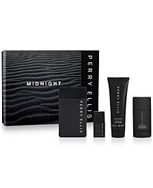 Men's 4-Pc. Midnight Eau de Toilette Gift Set