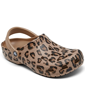 Women's Classic Printed Clog Shoes from Finish Line