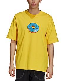 Men's The Simpsons™ Donut Graphic T-Shirt