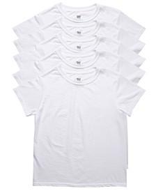 Big Boys Ultimate Cotton Blend Crew Undershirt, Pack of 5