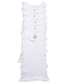 Big Boys Ultimate Cotton Blend Tank, Pack of 5