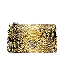 Women's Square Leopard Chain Mini Everyday Bag