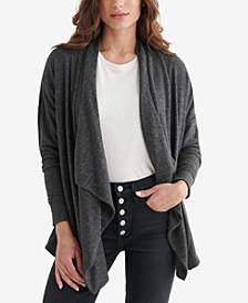 Women's Cloud Jersey Draped Cardigan