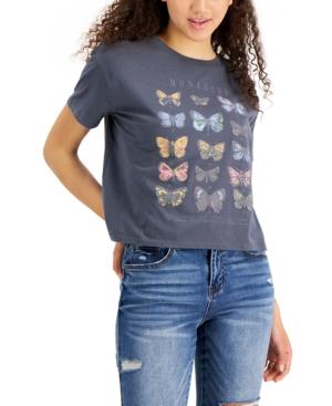 Butterfly-Print T-Shirt