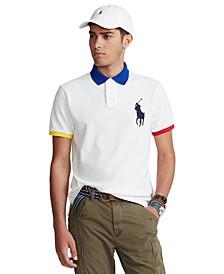 Men's Custom Slim Fit Big Pony Polo Shirt