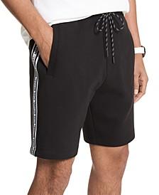 Men's Slim-Fit Blocked Logo Shorts