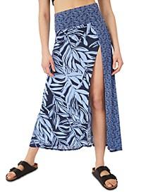 Turning Tide Printed Skirt