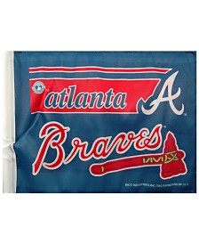 Rico Industries  Atlanta Braves Car Flag