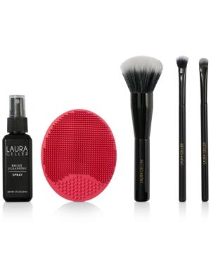 5-Pc. Brush-n-Bathe Brushes & Cleaning Set