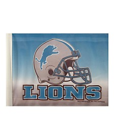 Rico Industries  Detroit Lions Car Flag