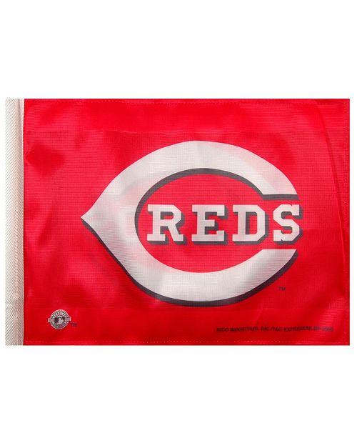 Rico Industries  Cincinnati Reds Car Flag