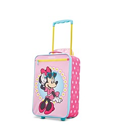 """Disney Minnie Mouse 18"""" Softside Carry-on Luggage"""