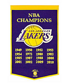Winning Streak Los Angeles Lakers Dynasty Banner