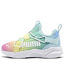 Toddler Girls Rainbow Rift Slip-On Running Sneakers from Finish Line