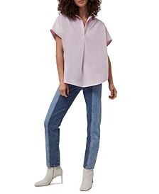 Solid Cele Woven Top