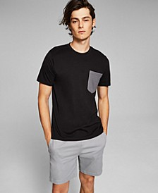 Men's Contrast Pocket T-Shirt