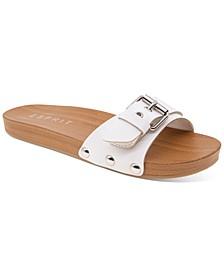 Winny Wooden Clog Slides