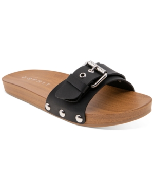 Winny Wooden Clog Slides Women's Shoes
