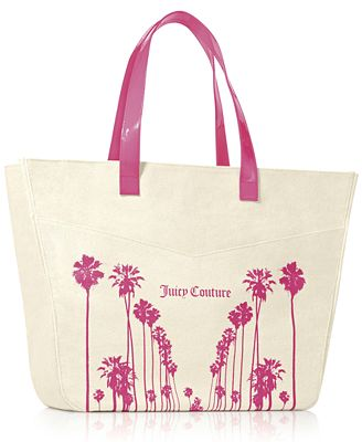 Receive a Complimentary Tote with any large spray purchase from the Juicy Couture fragrance collection