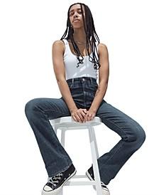 725 High-Waist Bootcut Jeans In Short Length