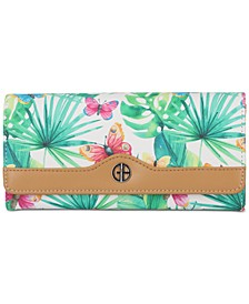 Butterfly Trifold Receipt Wallet, Created for Macy's