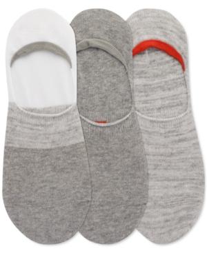 Men's 3-Pk. Color Block Sneaker Liner Socks