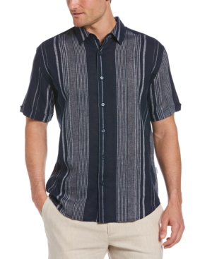 Men's Regular-Fit Yarn-Dyed Stripe Shirt