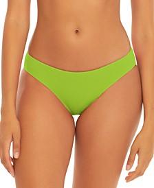 Fine Line Ribbed Hipster Bikini Bottoms