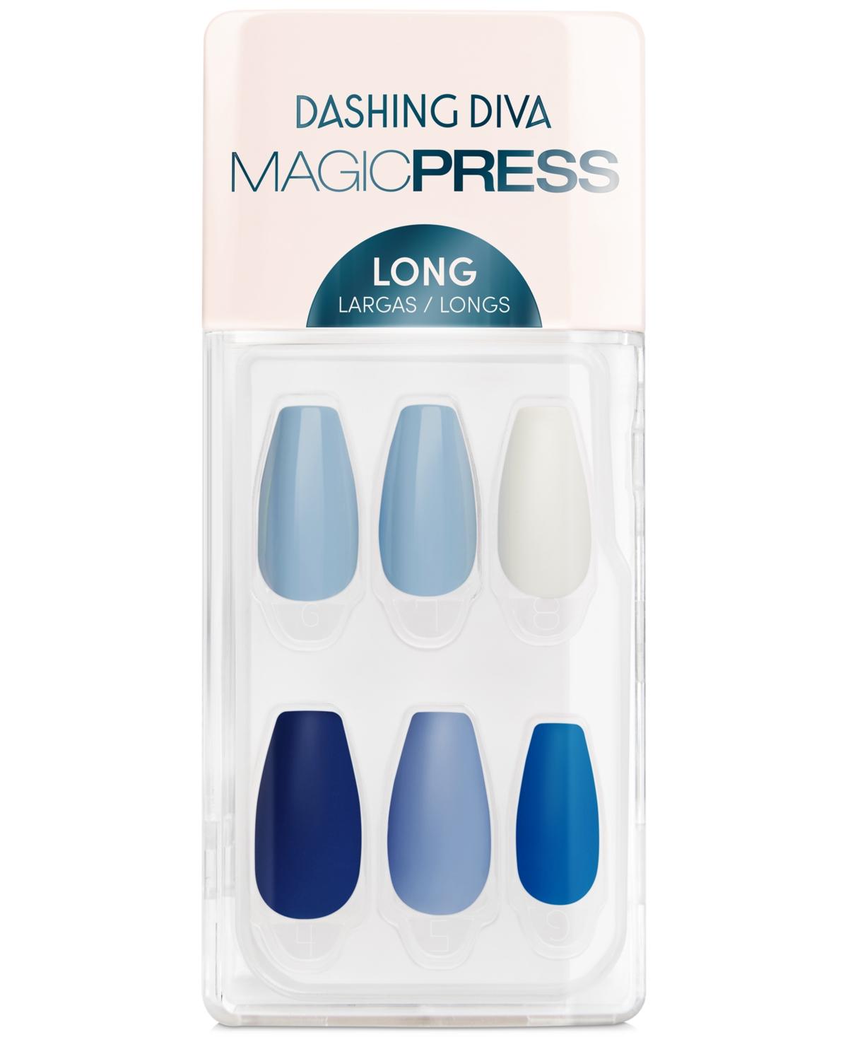 Dashing Diva Magicpress Press-On Gel Nails - House Of Blues