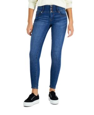 Juniors' Curvy Skinny Ankle Jeans