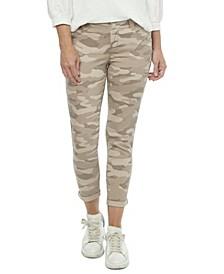 "Women's ""Ab"" Solution Roll Cuff Crop Jeans"