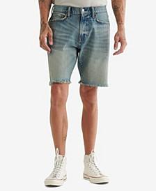 Men's Athletic Denim Shorts