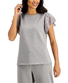 Ruffle-Sleeve Top, Created for Macy's