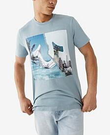 Men's Beach City Palms Short Sleeve Crewneck Tee