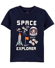 Baby Boys Space Explorer Knit T-shirt
