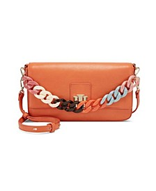 INC Edenne Chain Baguette Shoulder Bag, Created for Macy's