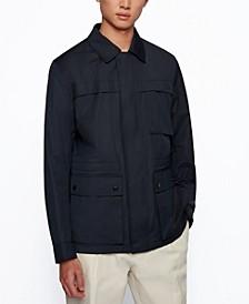 BOSS Men's Regular-Fit Field Jacket