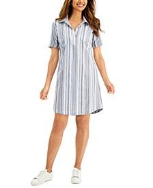 Cotton Seersucker Dress, Created for Macy's