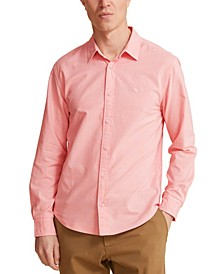 Men's Slim-Fit Garment-Dyed Oxford Shirt