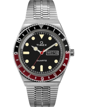 TIMEX MEN'S LAB ARCHIVE SILVER-TONE STAINLESS STEEL BRACELET WATCH 38MM