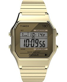 Unisex Lab Archive Gold-Tone Stainless Steel Bracelet Watch 34mm