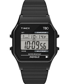 Unisex Lab Archive Black Stainless Steel Bracelet Watch 34mm
