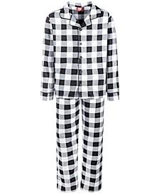 Matching Kids Buffalo Check Family Pajama Set